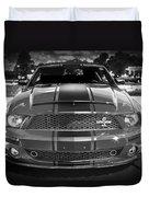 2007 Ford Mustang Shelbygt 500 427 Bw Duvet Cover