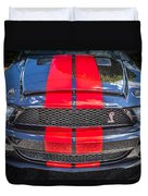 2007 Ford Shelby Gt 500 Mustang Duvet Cover