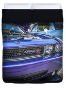 2008 Dodge Challenger Rt Duvet Cover