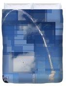 2008 Space Shuttle Launch Duvet Cover