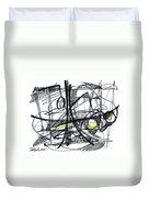 2010 Abstract Drawing 27 Duvet Cover