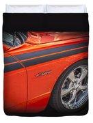 2010 Dodge Challenger Rt Hemi Duvet Cover