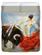 2010 Toro Acrylics 02 Duvet Cover