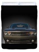 2012 Dodge Challenger Classic Duvet Cover