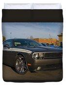 2012 Dodge Challenger R/t Classic Duvet Cover