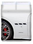 2012 Maserati Gran Turismo S Duvet Cover