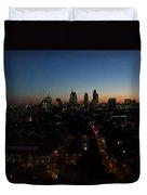 2013 City Of London Skyline Duvet Cover