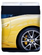 2013 Ferrari Pd Duvet Cover