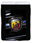 2013 Fiat 500 Abarth Duvet Cover