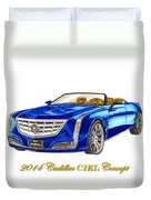 2014 Cadillac Ciel Concept Duvet Cover