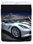 2014 Chevrolet Stingray Duvet Cover