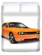 2014 Dodge Challenger Muscle Car Duvet Cover