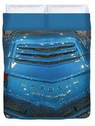 2014 Porsche 911 Carrera S Blue Duvet Cover