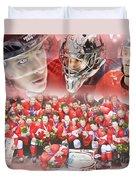 2014 Team Canada Duvet Cover