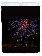 2014 Three Rivers Festival Fireworks Fairmont Wv 1 Duvet Cover