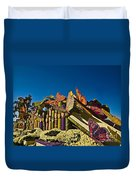 2015 Rose Parade Float With Butterflies 15rp044 Duvet Cover