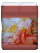 Abstract Exhibit Duvet Cover