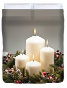 Advent Wreath Duvet Cover