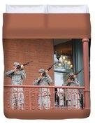 21 Gun Salute Duvet Cover