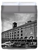 St Katherines Dock London Duvet Cover