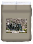 Views From Corfu Greece Duvet Cover