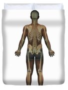The Skeleton Duvet Cover