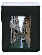 Venice Canal Duvet Cover