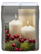 Advent Wreath Duvet Cover