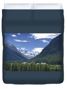 Alpine Village Duvet Cover