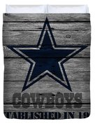 Dallas Cowboys Duvet Cover by Joe Hamilton