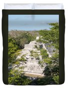 Edzna In Campeche Duvet Cover