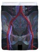 The Cardiovascular System Duvet Cover