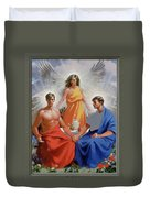 24. The Trinity / From The Passion Of Christ - A Gay Vision Duvet Cover