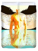 24x36 Reflective Angel Bb Duvet Cover