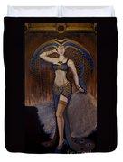 24x48 Peacock Dancer Duvet Cover