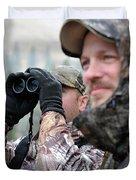 Hunting In Oregon Duvet Cover