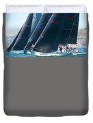 San Francisco Regatta Duvet Cover