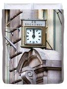 26 Broadway Duvet Cover