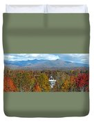 26 East And The Blueridge Panoramic Duvet Cover