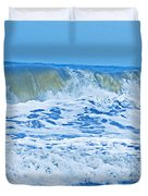 Hurricane Storm Waves Duvet Cover