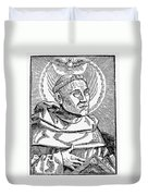 Martin Luther (1483-1546) Duvet Cover