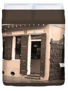 New Orleans - Bourbon Street 28 Duvet Cover