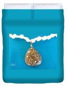 Aphrodite Urania Necklace Duvet Cover