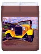'28 Ford Pick Up Duvet Cover