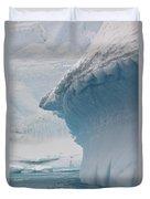 Iceberg, Antarctica Duvet Cover