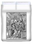 Dance Of Death, 1538 Duvet Cover