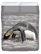 King Penguin Duvet Cover