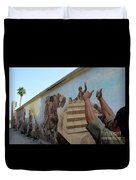 29 Palms Mural 4 Duvet Cover
