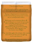 29- The Guest House Duvet Cover