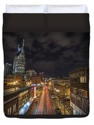 2nd Ave And Broadway Duvet Cover